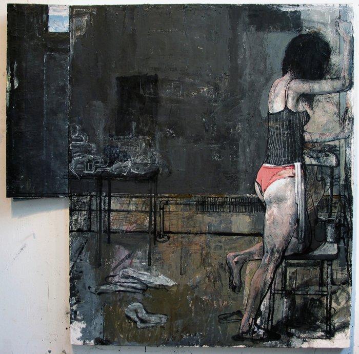 Jim Peters - Artist | Paintings | Her Studio, Black Wall